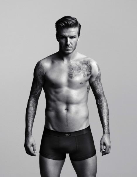 David Beckham 2012 underwear